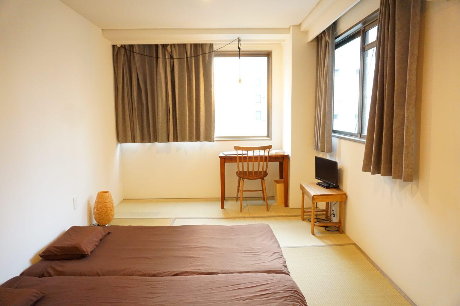 和室 3人部屋 共用バスルーム